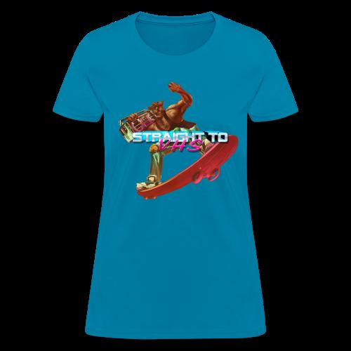 WOMEN'S Skating Werewolf - Women's T-Shirt