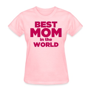 Pink Women's Mother's Day T-Shirt - Women's T-Shirt