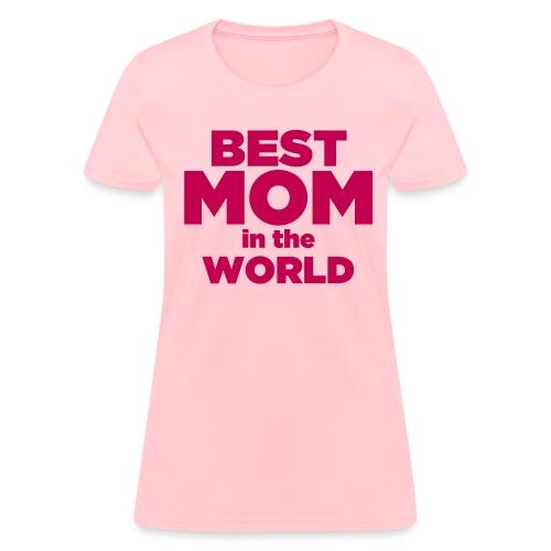 Pink Women's Mother's Day T-Shirt - Women's T-Shirt