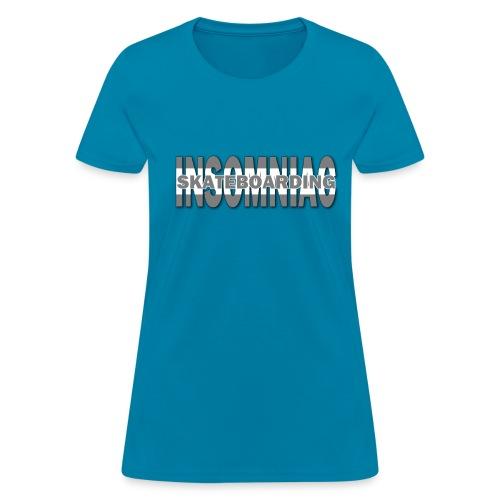 Womens Insomniac Logo T-Shirts - Women's T-Shirt