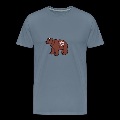 Jewish Bear T-Shirt - Men's Premium T-Shirt