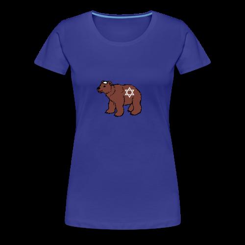 Jewish Bear T-Shirt - Women's Premium T-Shirt