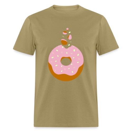 Strawberry Coconut Donut - Men's T-Shirt