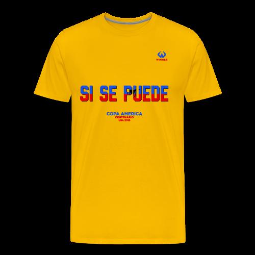 Ecuador Yellow - Men's Premium T-Shirt