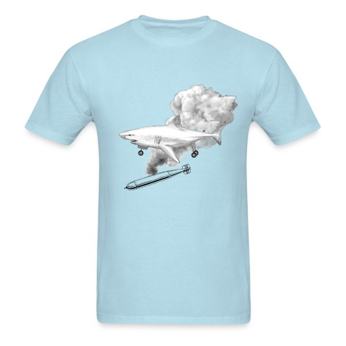 F-16 Thundershark - Men's T-Shirt