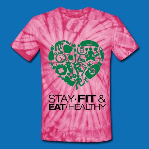 Healthy Life Shirt - Unisex Tie Dye T-Shirt