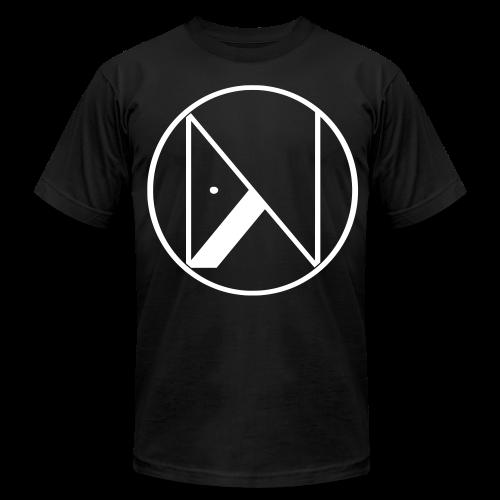 NEBITA WHITE LOGO TEE - Men's Fine Jersey T-Shirt