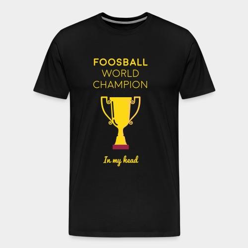 World Champion tshirt - men's - Men's Premium T-Shirt