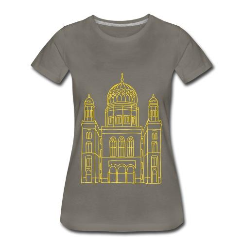 New Synagogue Berlin - Women's Premium T-Shirt