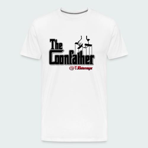 Up to 5XL-COONFATHER BLK - Men's Premium T-Shirt