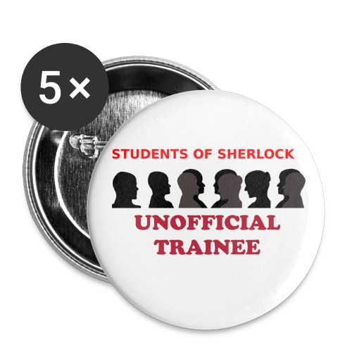 Unofficial Member in Training Pins (pack of 5) - Large Buttons