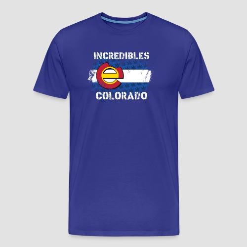 incredibles colorado e flag T - Men's Premium T-Shirt