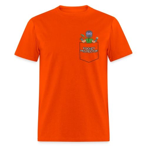 POCKET PROTECTOR (MENS) - Men's T-Shirt