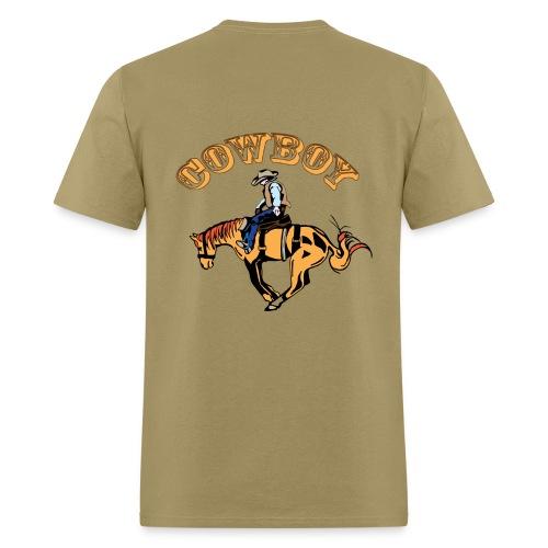 Cow Boy - Men's T-Shirt