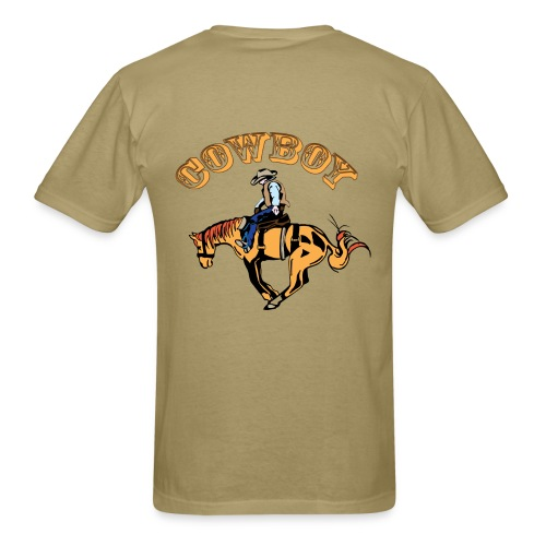 Cow Boy - Men's T-Shirt