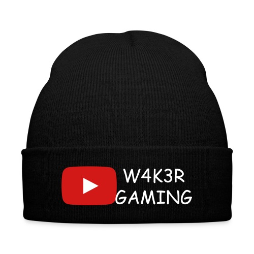 Le bonnet W4K3R GAMING - Knit Cap with Cuff Print