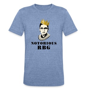 RBG for Reproductive Freedom  - Unisex Tri-Blend T-Shirt
