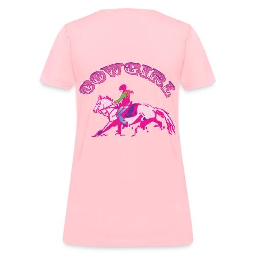 Cow Girl - Women's T-Shirt