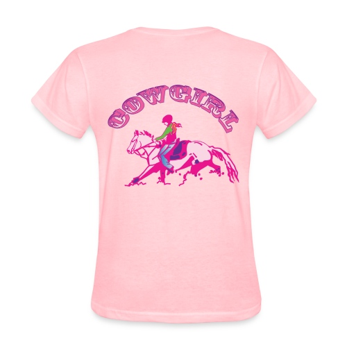 Cow Girl - Women's T-Shirt