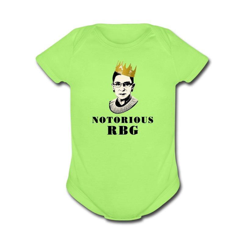 RBG v. Citizens United    - Short Sleeve Baby Bodysuit