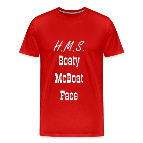 Boaty McBoat Face - Men's Premium T-Shirt