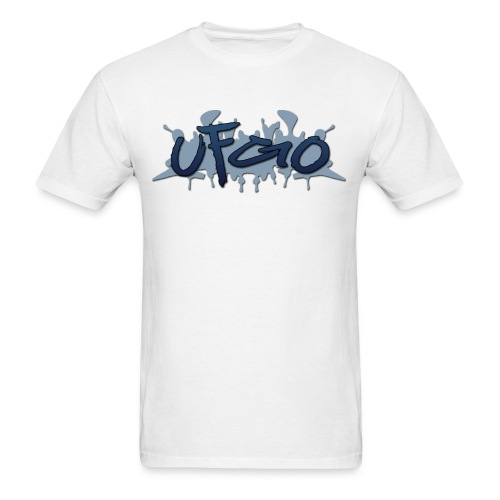 UFGO Graffiti (Blue) - Men's T-Shirt