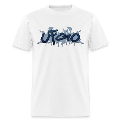 UFGO Graffiti (Blue) - Men's T-Shirt