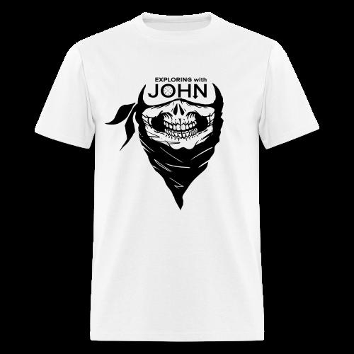 Exploring with John - Men's T-Shirt