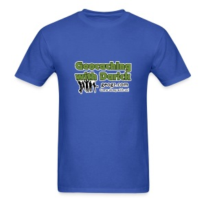 Geocaching with Darick T-Shirt - Men's T-Shirt