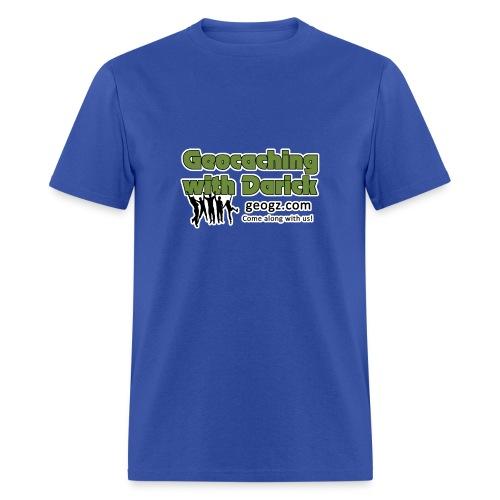 Geocaching with Darick T-Shirt - Men's T-Shirt