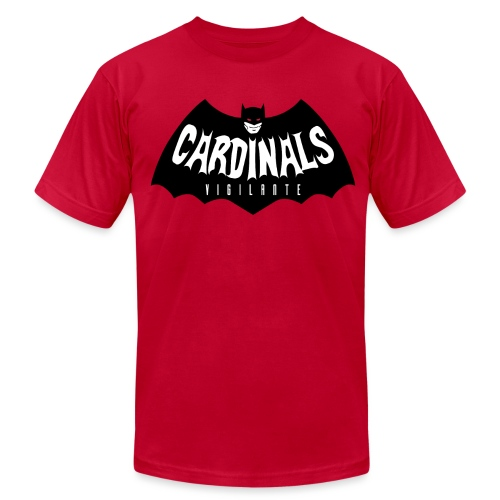 Cardinals Vigilante T-Shirt  - Men's T-Shirt by American Apparel