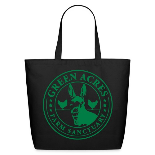 Canvas Tote - Festus Green Logo - Eco-Friendly Cotton Tote