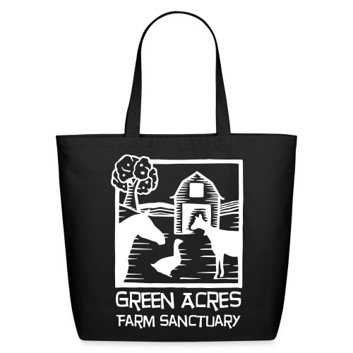 Canvas Tote - White Logo - Eco-Friendly Cotton Tote