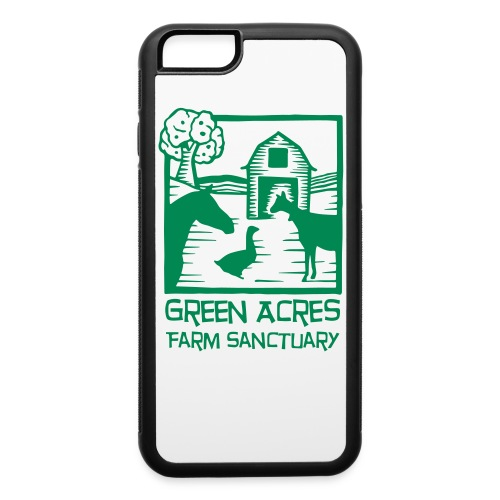 iPhone 6/6s Case - Green Logo - iPhone 6/6s Rubber Case