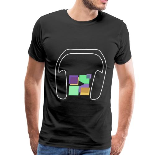 Men: Premium Music To Me Is... T-Shirt - Men's Premium T-Shirt