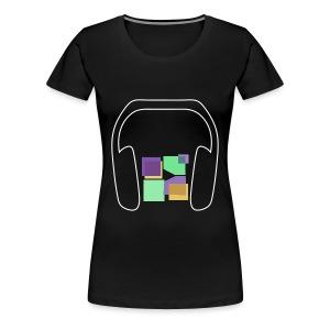 Women: Premium Music To Me Is... T-Shirt - Women's Premium T-Shirt