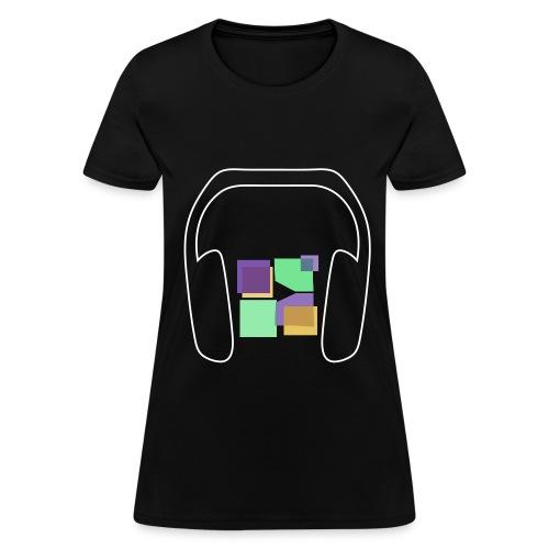 Women: Music To Me Is... T-Shirt - Women's T-Shirt
