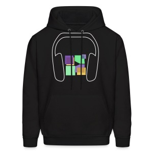 Men: Music To Me Is... Hoodie - Men's Hoodie