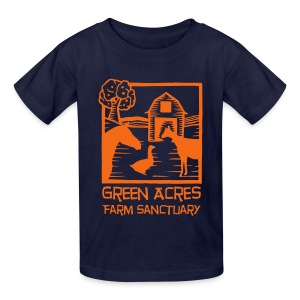 Kids Tee - Orange Logo - Kids' T-Shirt
