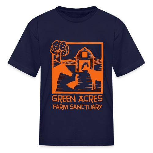 Kids Tee - Orange Logo - Kids' T-Shirt