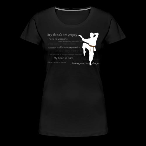Women 100% Cotton - Classic - Women's Premium T-Shirt
