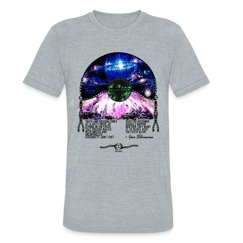Cashmerian Gold - Heavystar Tee - Unisex Tri-Blend T-Shirt