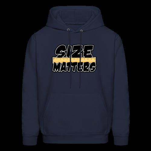 Size Matters - Men's Hoodie
