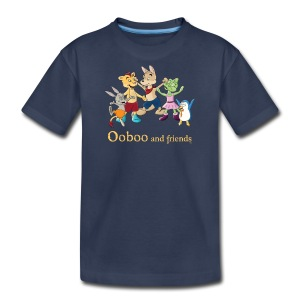 Ooboo and Friends - EVERYONE - Kids' Premium T-Shirt