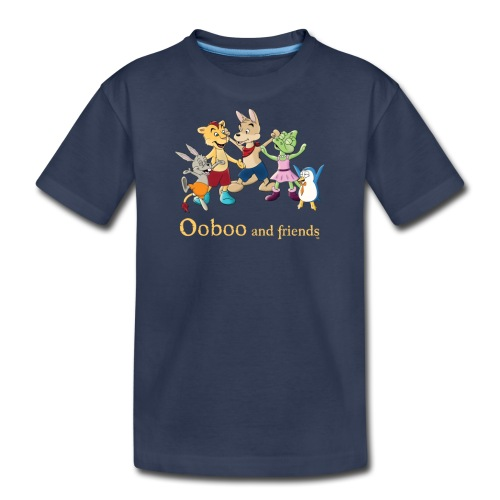 Ooboo and Friends - EVERYONE - Kids' Premium T-Shirt