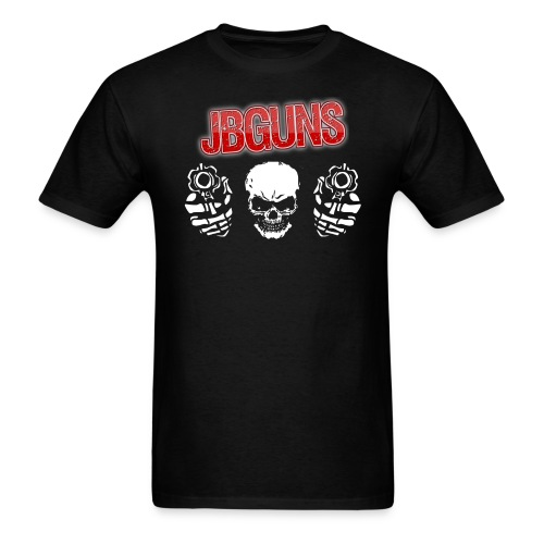 jBGuns Gunz Up T-Shirt - Men's T-Shirt