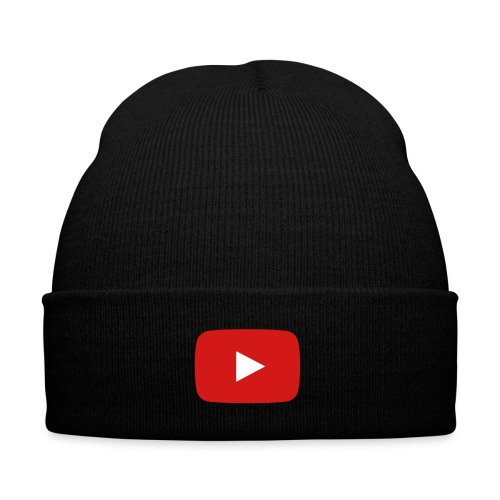youtube beane - Knit Cap with Cuff Print