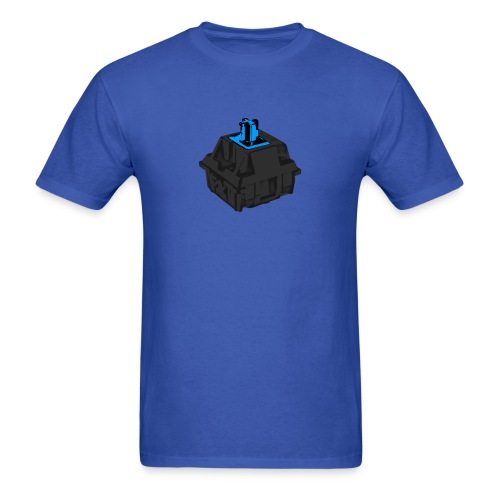 Men's Blue Switch with Black Housing - Men's T-Shirt