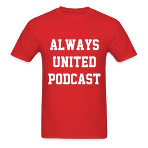 Always United Podcast Men's T-Shirt - Men's T-Shirt