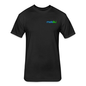 Mobiliti Logo Performance Tee - Fitted Cotton/Poly T-Shirt by Next Level